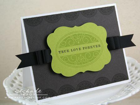 True Love Forever card