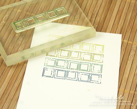 Stamping squares