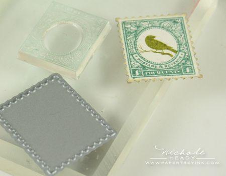 Stamping postage