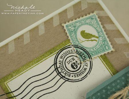 Postage closeup