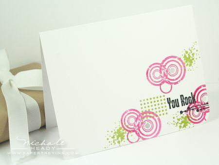Pink You Rock Card