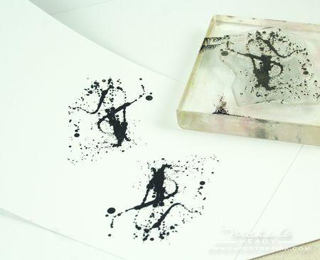 Stamping splatters