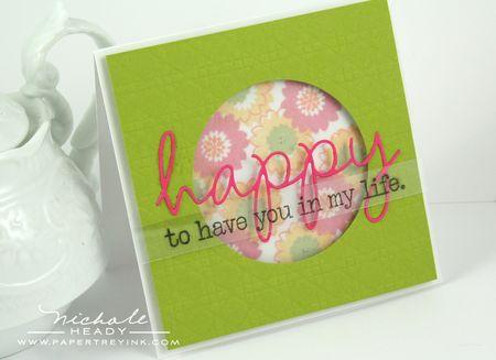 Happy Window Card