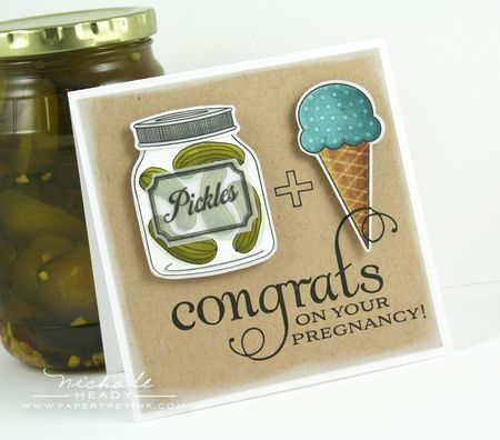 Pickles & Ice Cream Card