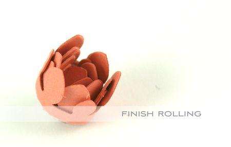 Finish rolling