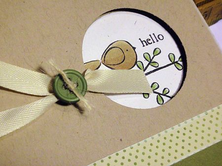 Little Hello Card
