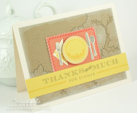 Thanks for Dinner Card