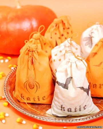 Muslin treat bag