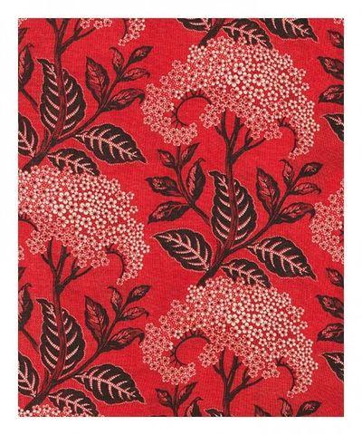 Flower red pattern