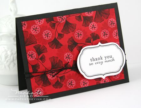 Thank You So Very Much Card