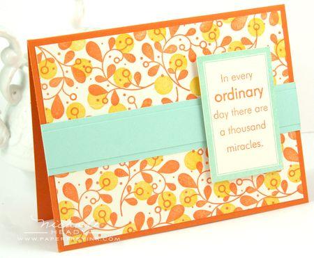 Ordinary Miracles card