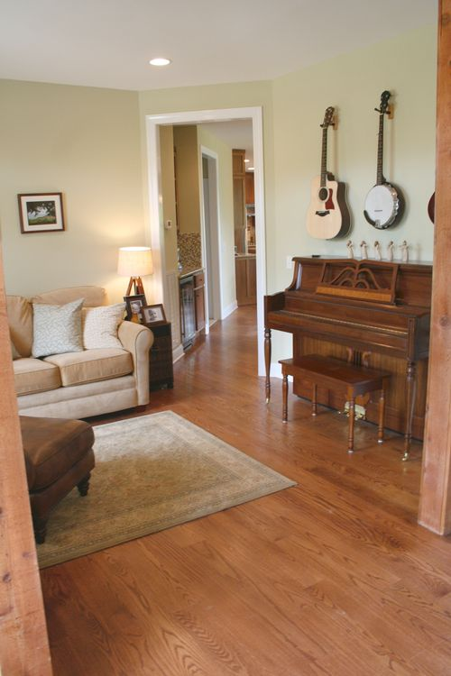 Music room entry