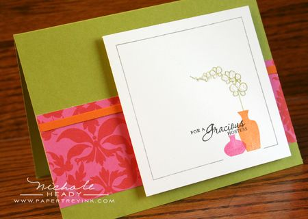 Gracious Hostess Card