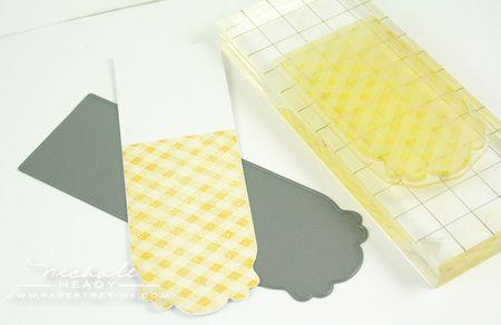 Stamping card strip