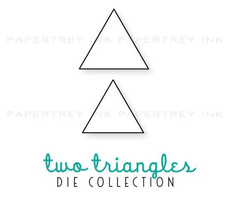 Two-triangles-dies