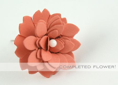 Completed Flower