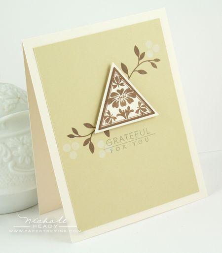 Grateful Flor You Card