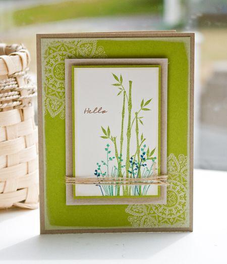 Lisa-Peaceful Garden Card