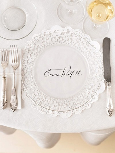 Table setting 1