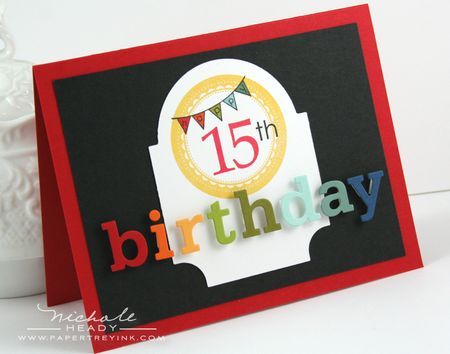 15th Birthday Card