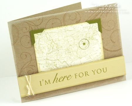 Im Here For You Card