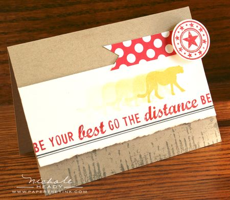 Go the Distance Card