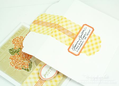 Envelope & card set