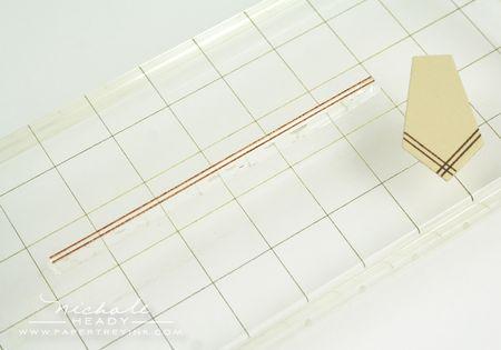 Stamping napkin