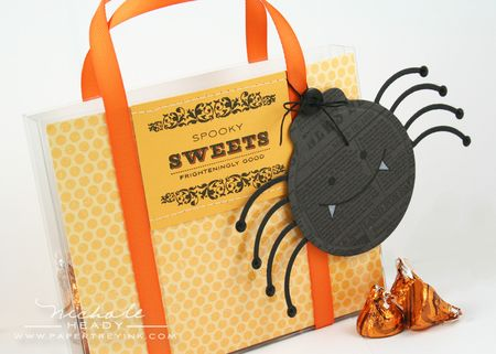 Sweets Bag & Spider Tag