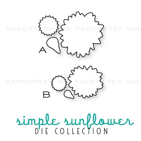 Simple-sunflower-dies