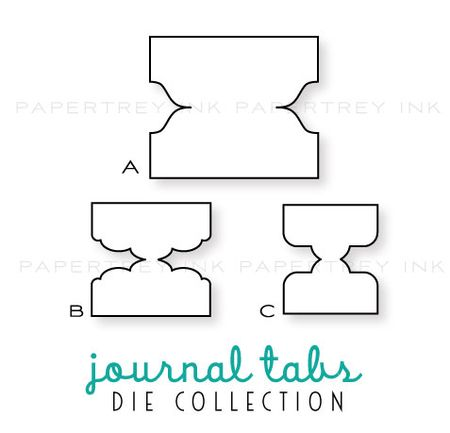 Journal-tabs-dies