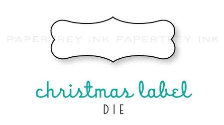 Christmas-Label-die
