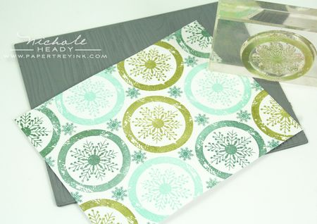 Stamping background