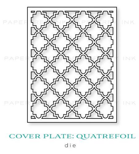 Cover-Plate-Quatrefoil-die