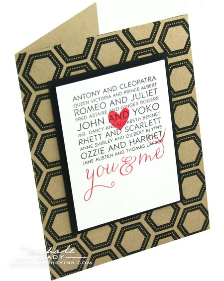 You & Me card
