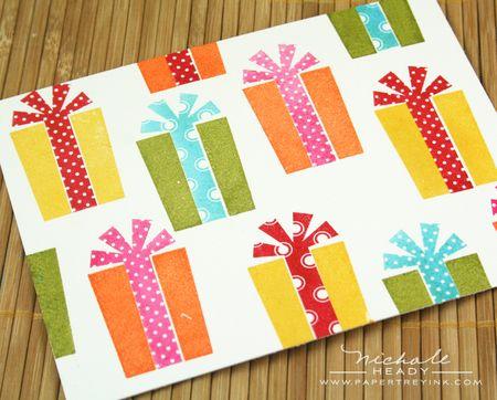 Birthday gift background