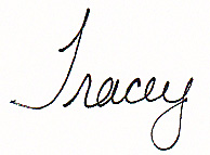 13 Tracey