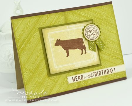 Herd its Your Birthday Card
