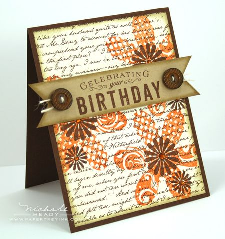 Celebrating Your Birthday card
