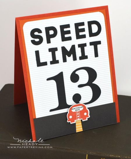 Sped Limit Card