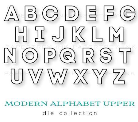 Modern-Alphabet-Upper-dies