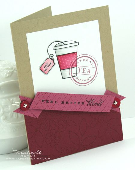 Feel Better Blend Card