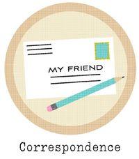Correspondence-Badge