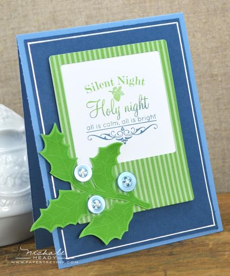 Silent Night Card