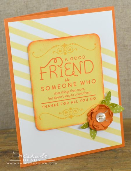 Good Friend card