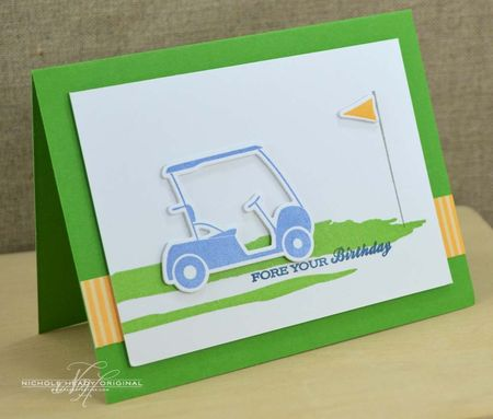 Fore Your Birthday Card