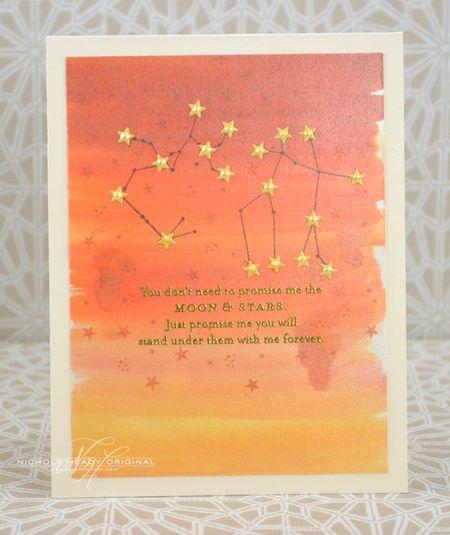 Moon & Stars Card