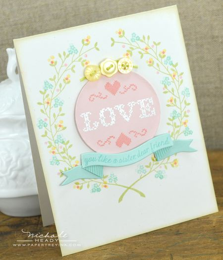 Love You Like a Sister card