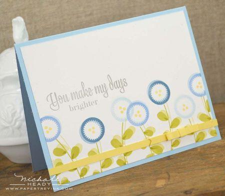 Make My Days Brighter card