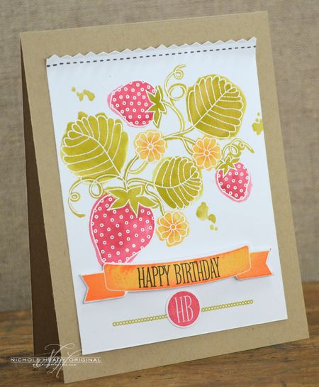 Berry Birthday Card